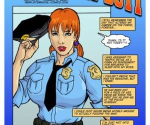 Comics In the line of duty- Interracial interracical