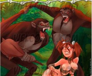 Comics Welcomix- Jurassic Tribe 5- Captured.., family , welcomix  incest