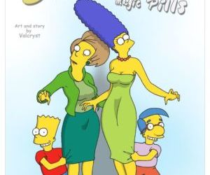 Comics Magic Pills- The Simpsons, family , simpsons  incest