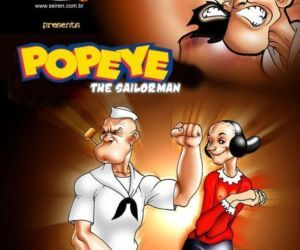 Comics Popeye-The Dance Instructor, seiren  toon