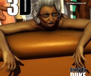 fumetti Ms Jiggles 3D – Vol 7- Duke Honey, pompino , interracical trio