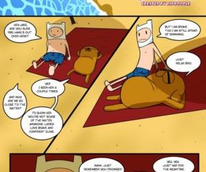 Comics Adventure Time- Gotta Stretch That.. toon