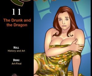 Comics Curtas 11- Drunk and Dragon, seiren  big-boobs