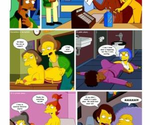 Comics The Simpsons -Conquest of Springfield.., family  simpsons