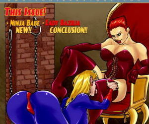 Comics 9 Super Heroines – The Magazine 3, blowjob  group