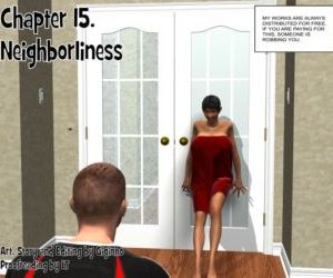 Comics Neighborliness- Giginho Ch. 15, anal , blowjob  double penetration