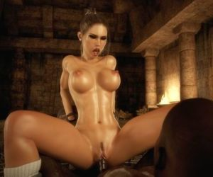 Comics Dark Adventures- HitmanX3Z –.., blowjob , lara craft  affect3d