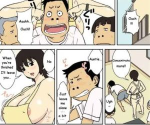 Comics Mother with Huge Tits and Naughty Boys.., blowjob , full color  full-color