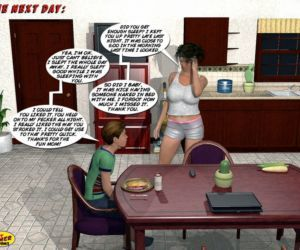 Comics Incest3D- Mom and Son Pool Party 3 milf