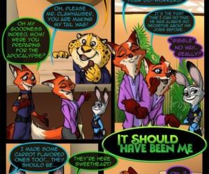 Comics Zootopia- It Should Have Been Me full color
