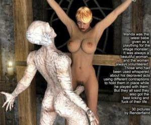 Comics 3DFiends- Monster Chronicles 06, blowjob , cumshot  monster