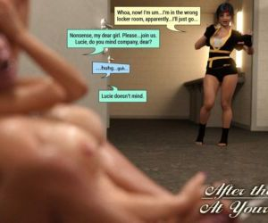 Comics SquarePeg3D- The F.U.T.A. – After.., shemale  futanari & shemale & dickgirl
