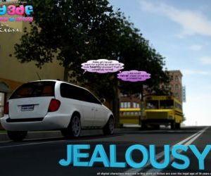 Comics Y3DF – Jealousy son-mom