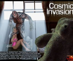 Comics Gonzo- Cosmic Invasion, blowjob , forced  monster