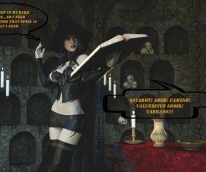 Comics Xnassyx- Wrong Spell, blowjob , cumshot  monster
