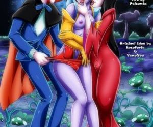Comics Palcomix- Space Vampires, threesome  pussy licking