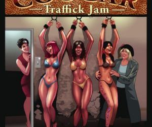 Comics Coochie Cougar 03- TrafficK Jam, bdsm  forced