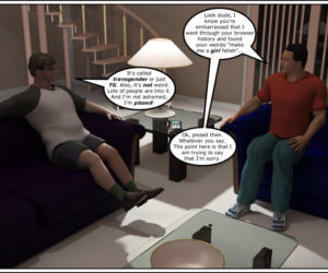 Comics Phoenyxxx- Buddy TG, 3d  transformation