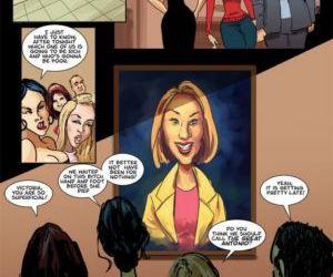 Comics The Seance, threesome  black & interracial