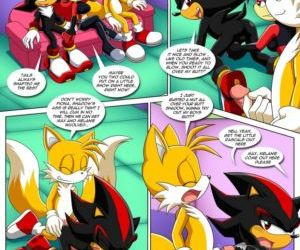 Comics The Prower Family Affair - Foxy Black, furry , sonic the hedgehog  son