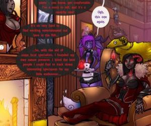 Comics The Menagerie Of Baroness Gedan orgy