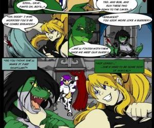 Comics The Legend Of Jenny And Renamon 3 -.., threesome , bondage  digimon