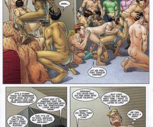 Comics The Initiation 2, yaoi  All