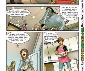 Comics The Housesitter, shemale  futanari & shemale & dickgirl