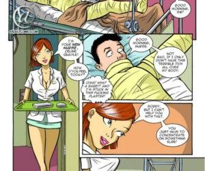 Comics The Helpful Nurse 1 gangbang