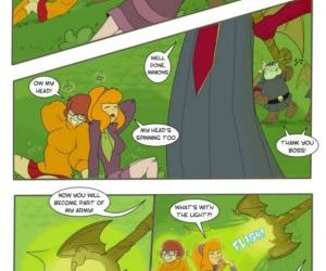 Comics The Goblin King, transformation  threesome