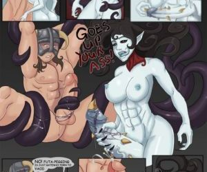 Comics The Dragonborn Cometh - part 3, threesome , orgy  tentacles