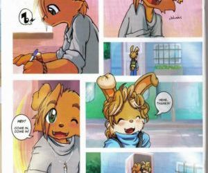 Comics The Day Before The Exam furry