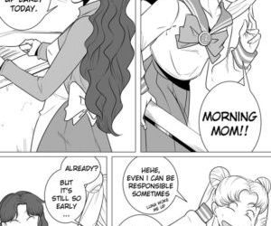 Comics Sailor Moon - The Beauty Of A Mother, mom  mother