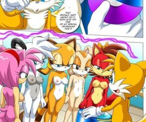 Comics Tails Tinkerings, furry  sonic the hedgehog