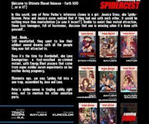 Comics Spidercest 8, threesome  superheroes