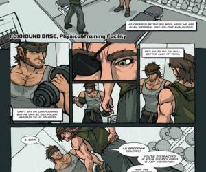 Solid Snake And Naked Snake