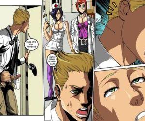 Comics Sissy Hospital - part 2, gender bending  futanari x male