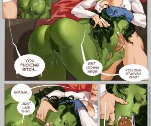Comics She-Hulk Domination superheroes