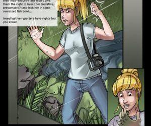 Comics Return Of The Gator Girl transformation