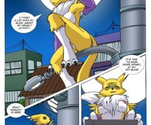 Comics Renamons Blog 1, digimon  furry