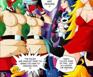 Comics Panty & Stocking Angels vs Demons, orgy  gangbang