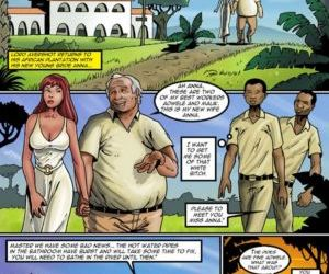 Comics Plantation Bride, threesome , cheating  black & interracial