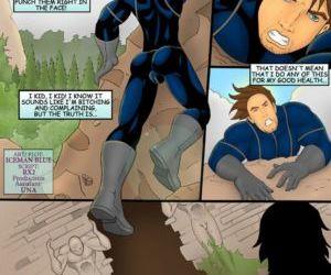 Comics Midnightman 3 iceman blue
