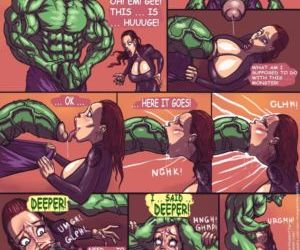Hulk VS Black Widow