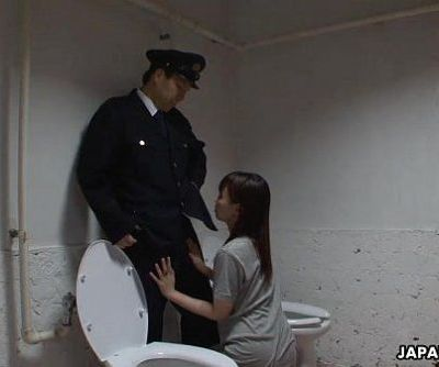 Asian prisoner sucking off the..