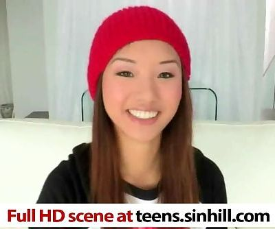 Chinese Teen Alina Li Loves Huge..
