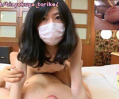 【Japanese Pure Amateur】 Cute..