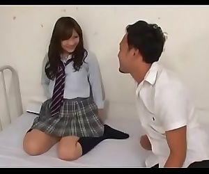Guy teases a japanese twat 5 min