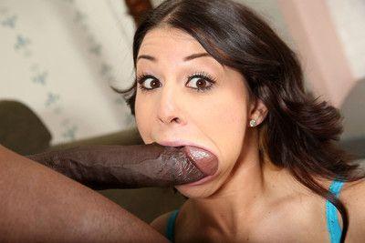 Hot pornstars gets fucked by big black cocks
