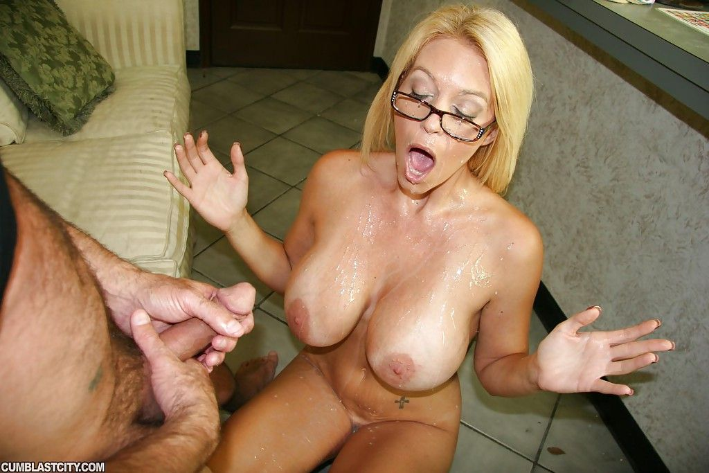 Hot Housewife Brianna Shay Gets Her Face Covered In Cum Afte Dadcrush 1